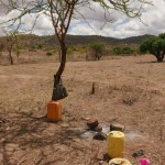 The Water Project: Twone Mbee Muselele II Self-Help Group Shallow Well -