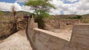 The Water Project : kenya4389-26-completed-dam