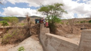 The Water Project : kenya4389-27-completed-dam