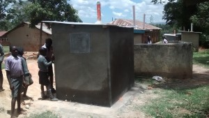 The Water Project : kenya4404-38-completed-latrines