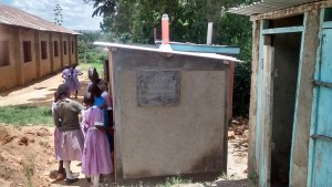 The Water Project : kenya4404-40-completed-latrines