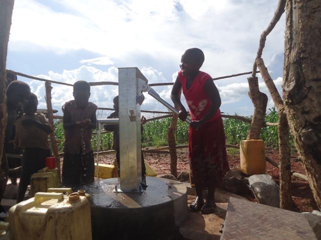 Photo of Kyeganywa I Ndalama Hand Dug Well Project