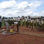 The Water Project: Kisindizi Public Primary School Borehole Project -