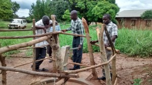 The Water Project : uganda696-11-well-fence