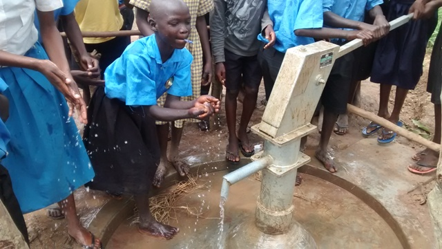 Photo of Kigezi Primary School New Well Project