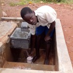 The Water Project: Ebulondi Primary School Rainwater Harvesting and VIP Latrines -  Clean Water