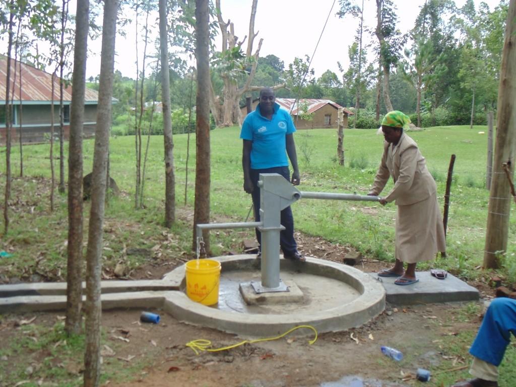 Photo of Ebumwende Community Well Rehabilitation Project