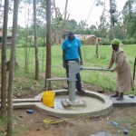 The Water Project: Ebumwende Community Well Rehabilitation Project -  Testing The Waters