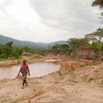 The Water Project: Itoo Self-Help Group Shallow Well Project -  Alongside
