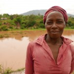 The Water Project: Itoo Self-Help Group Shallow Well Project -  Woman