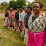 The Water Project: Itoo Self-Help Group Shallow Well Project -  Women