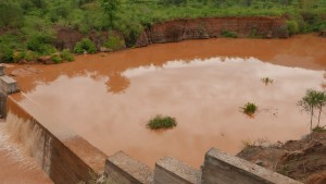 The Water Project : kenya4388-02-sand-dam