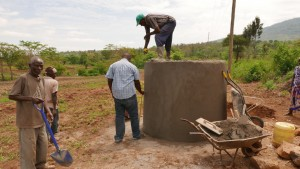 The Water Project : kenya4396-06-tank-construction
