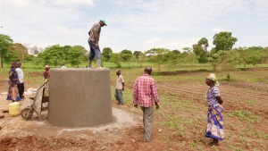 The Water Project : kenya4396-08-trank-construction