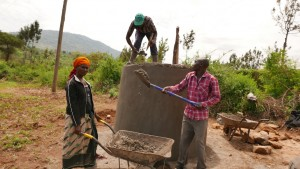 The Water Project : kenya4396-19-tank-construction