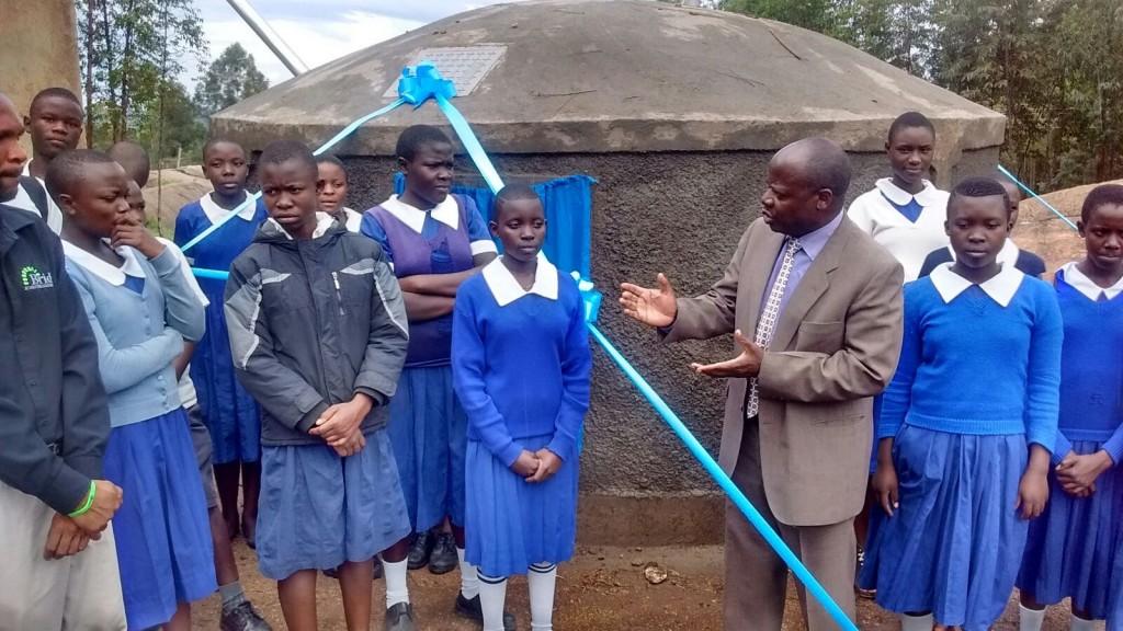Photo of Ebwambwa Primary School Rainwater Harvesting and Latrine Project