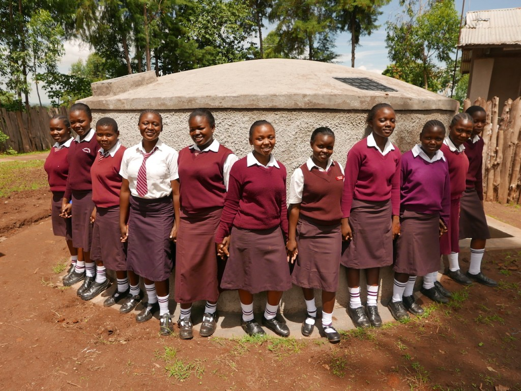 Photo of St. Marys Shihome Girls School Rainwater Harvesting and VIP Latrines