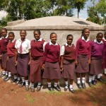The Water Project: St. Marys Shihome Girls School Rainwater Harvesting and VIP Latrines -