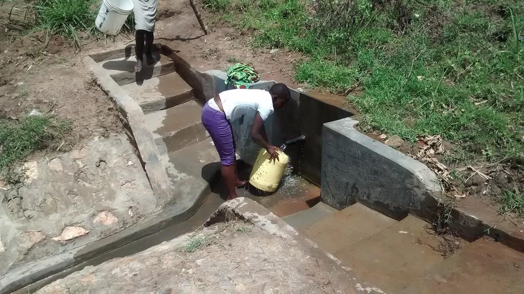 Photo of Shamwama Spring Protection and Sanitation Project