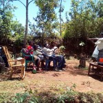 The Water Project: Nuru Okumbe Spring Protection and Sanitation Project -