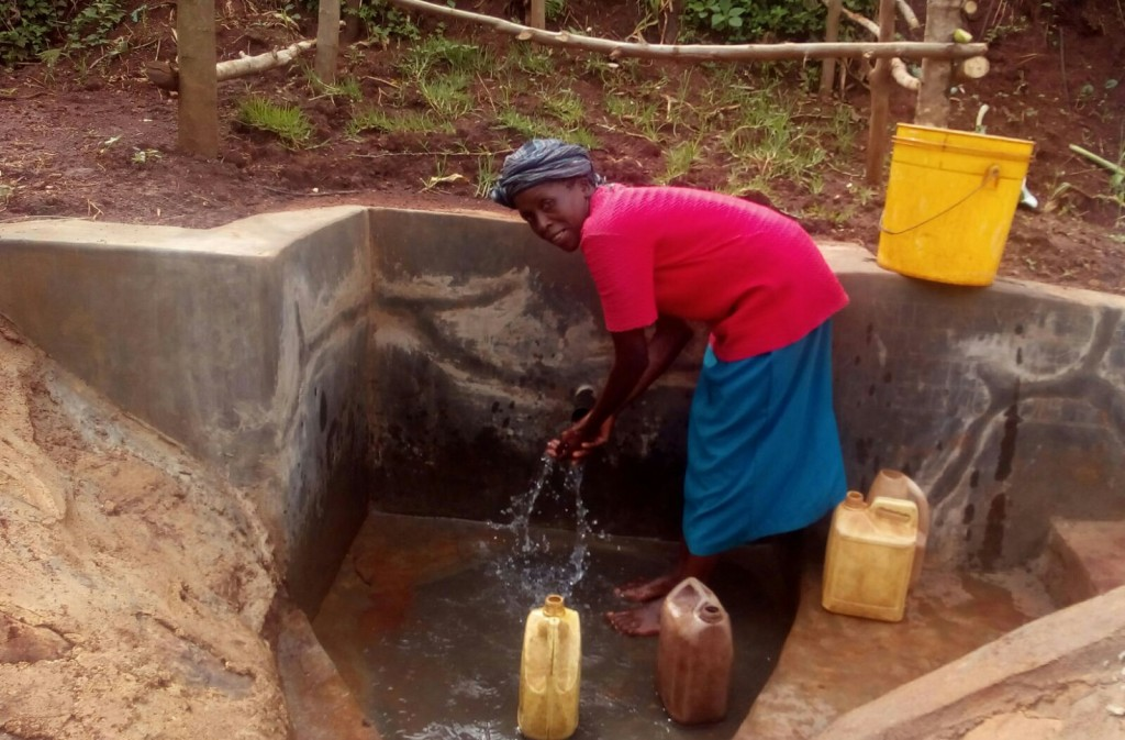 Photo of Nuru Okumbe Spring Protection and Sanitation Project