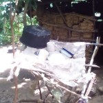The Water Project: Laurence Induli Spring Protection and Sanitation Project -
