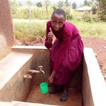 The Water Project: Ebwiranyi Primary School Rainwater Harvesting and VIP Latrine Project -