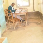 The Water Project: Muraka Primary School Water Tank and Latrine Project -