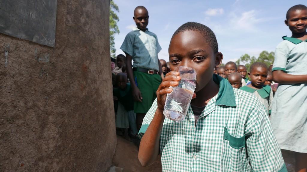 Photo of Emung'abo Primary School Rainwater Harvesting and VIP Latrines