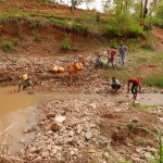The Water Project: Yavili Self-Help Group Sand Dam Project -