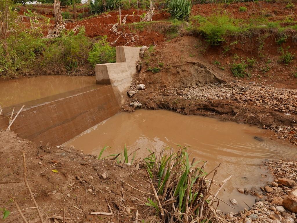 The Water Project Kenya Yavili Self Help Group Sand Dam