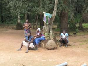 The Water Project : kenya5072-41-onlookers