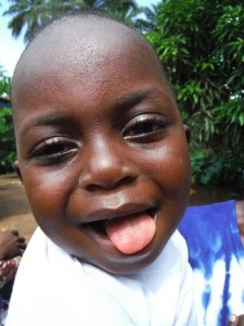 The Water Project : sierraleone5074-42-trying-a-smile