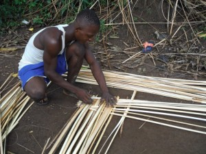 The Water Project : sierraleone5074-47-making-mat