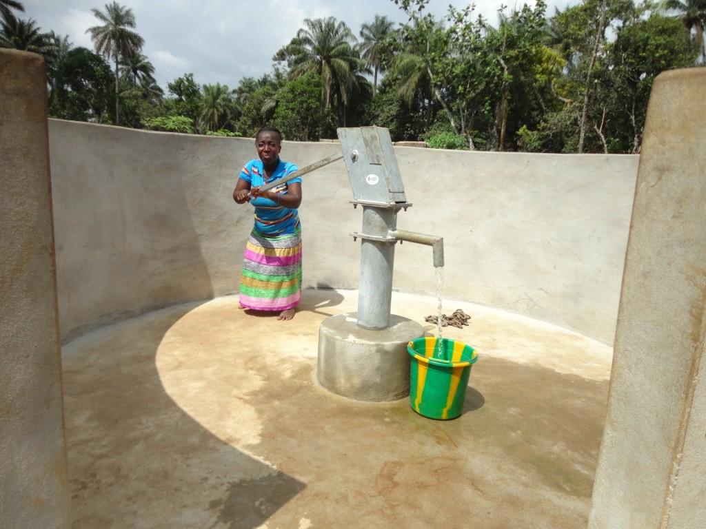 Photo of Bormodia Village New Well Project