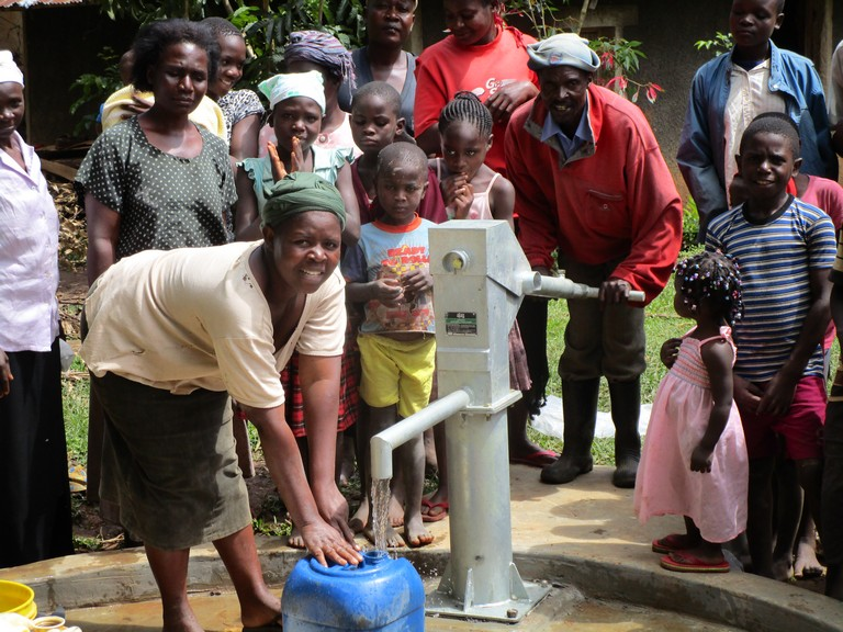 Photo of Efwetero Cultural Development Self Help Group New Well Project