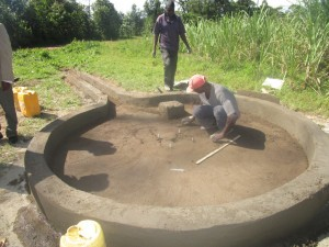 The Water Project : kenya4398-40-pad-construction