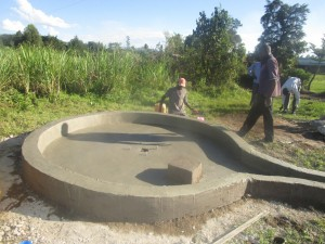 The Water Project : kenya4398-43-pad-construction