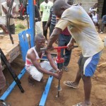 The Water Project: N'Baimbaya Community New Well Project -