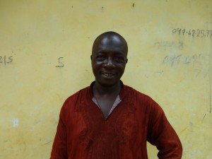 The Water Project : sierraleone5075-68-headman-interviewed