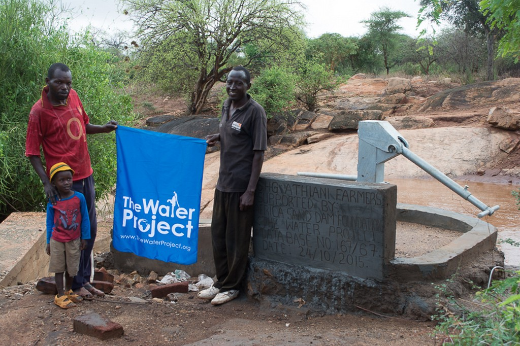 The Water Project : kenya4298-well-beneficiaries