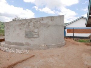 The Water Project : kenya4393-36-finished-tank