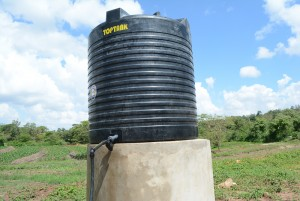 The Water Project : kenya4396-02-finished-tank