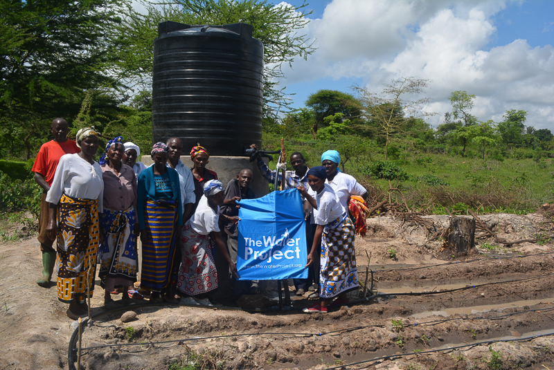 The Water Project : kenya4397-06-completed-tank