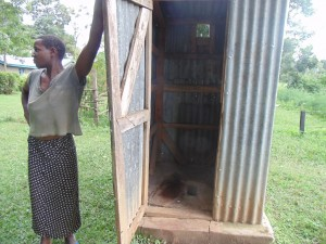 The Water Project : kenya4399-10-latrine