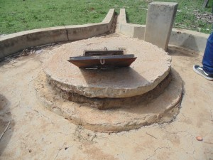The Water Project : kenya4400-03-well-pad