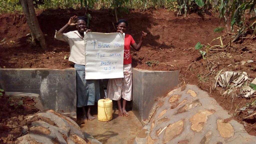 Photo of Simon Otundo Spring Protection and Sanitation Project