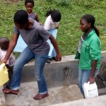 The Water Project: Barnes Spring Protection and Sanitation Project -