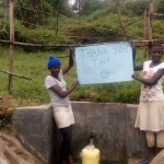 The Water Project: Mundoli Spring Protection and Sanitation Project -
