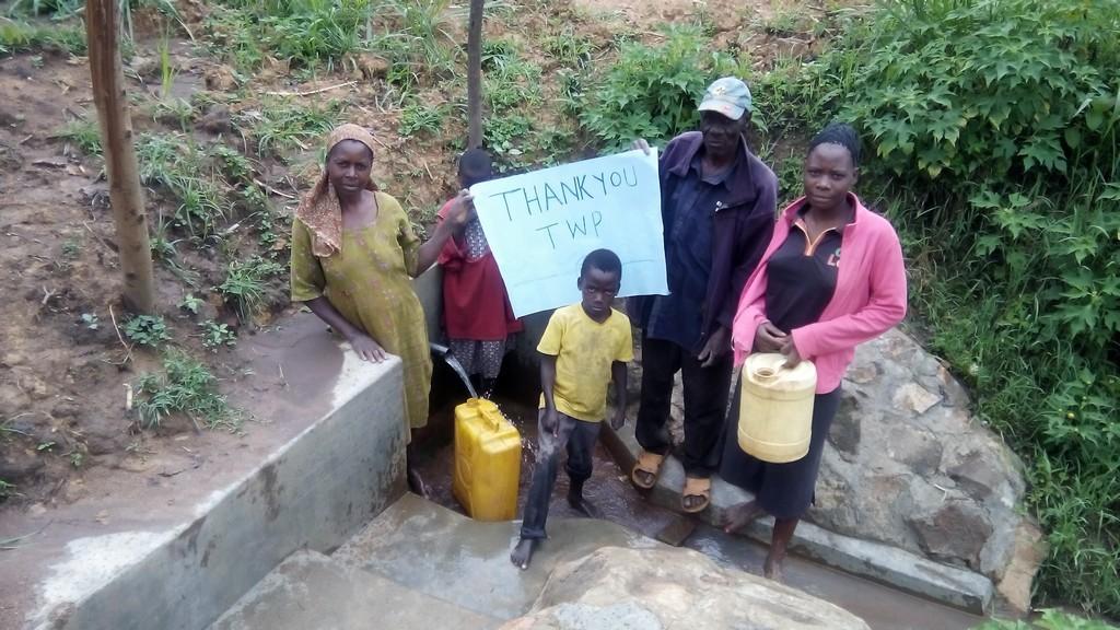 Photo of Namburu Spring Protection and Sanitation Project